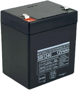 MLBATRECH12V-5AH 12 Volts, 5 A/h, Rechargable battery