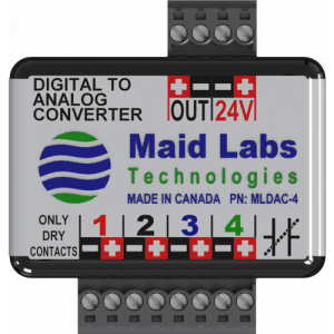 MLDAC-4 Digital to Analog Converter 4 inputs